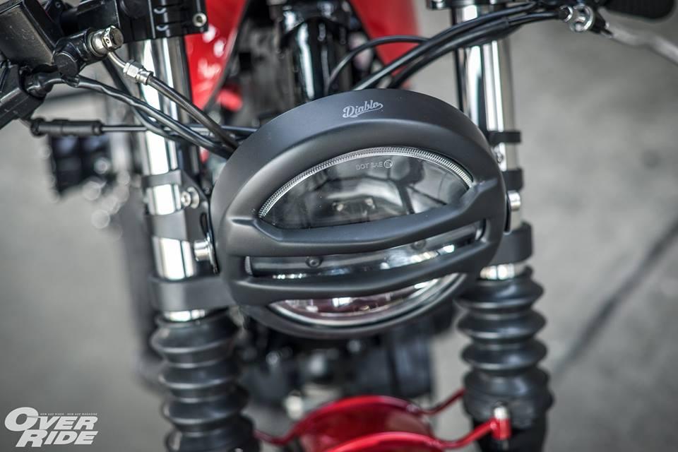 Yamaha Virago 750 than hinh oai ve qua phong cach Cafe Racer - 5