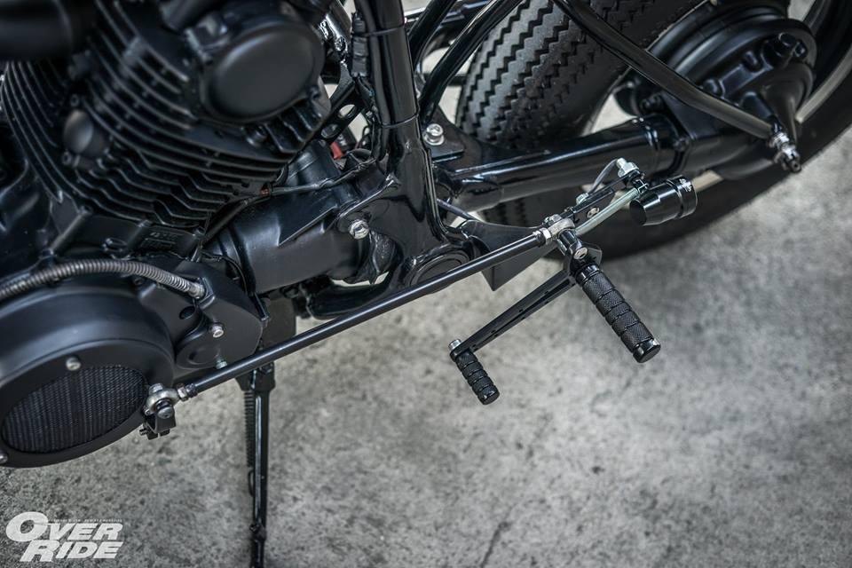 Yamaha Virago 750 than hinh oai ve qua phong cach Cafe Racer - 16