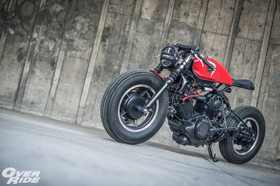 Yamaha Virago 750 than hinh oai ve qua phong cach Cafe Racer - 18
