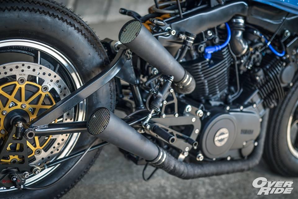 YAMAHA XV 750 ban do Make Over ham ho cua Biker Thai - 17