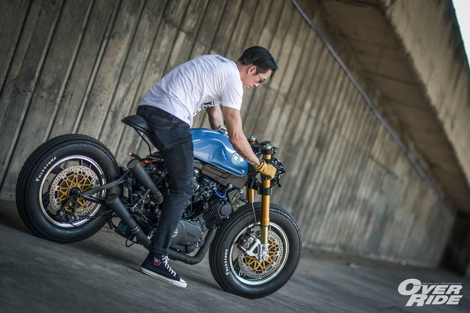 YAMAHA XV 750 ban do Make Over ham ho cua Biker Thai - 25