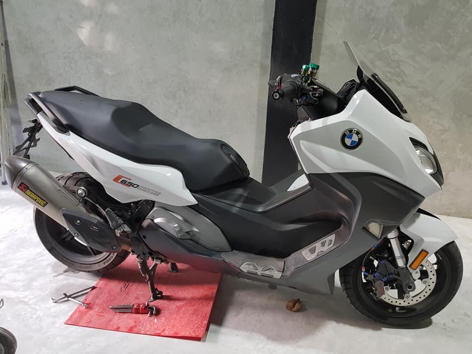 BMW C650 Sport ban do hiem hoi tai thi truong Thai - 7