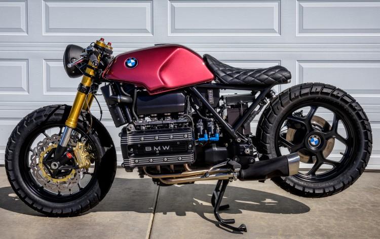 BMW K100 bien hoa tai tinh duoi ban tay cua Trevor Ditson - 8