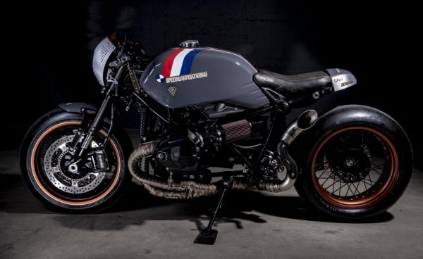 BMW R NineT ban do Cafe Racer den tu xuong do VTR Custom - 2
