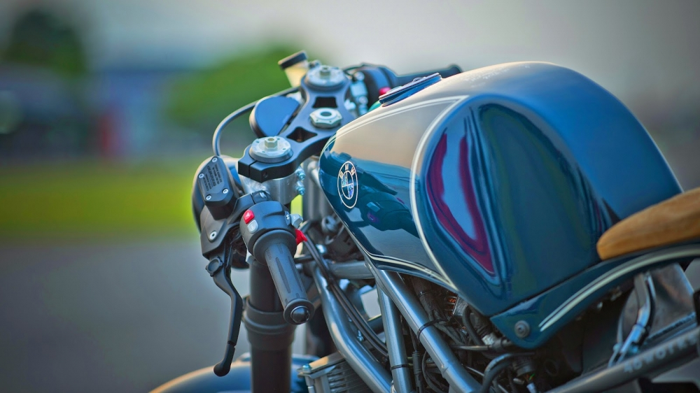 BMW RnineT day bien hoa tu tay choi Shiro Nakajima - 5