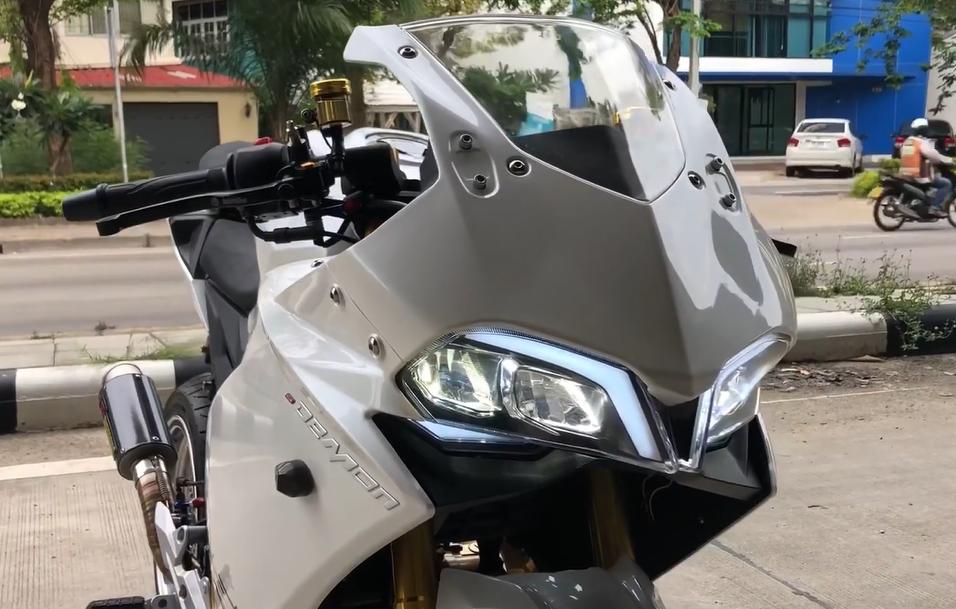CLIP Can canh GPX Demon 150 GR do cuc dinh cua dan choi Thailand - 4