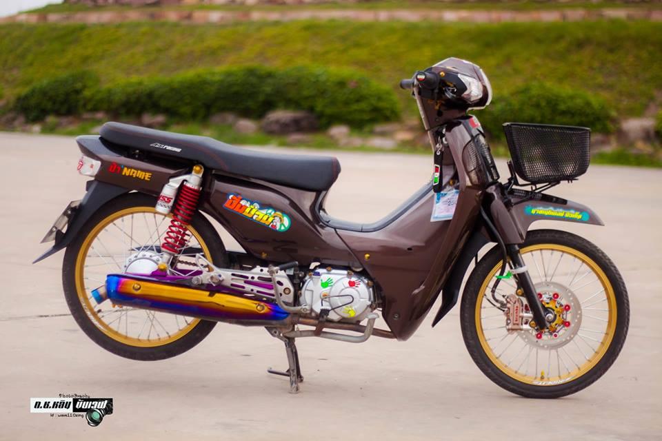 Cub Fi do gian don voi ve dep bi an cua biker Thailand - 3