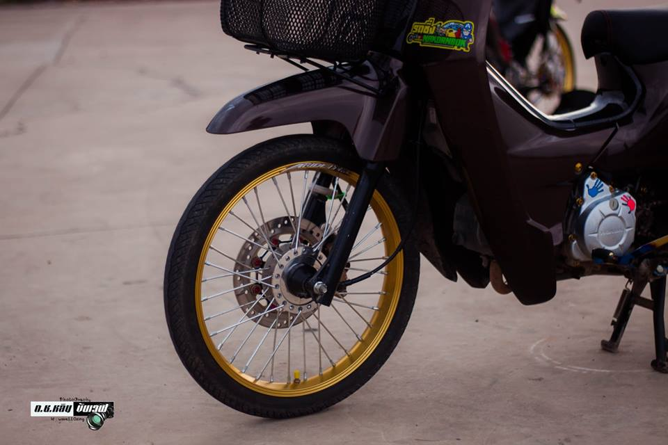 Cub Fi do gian don voi ve dep bi an cua biker Thailand - 5