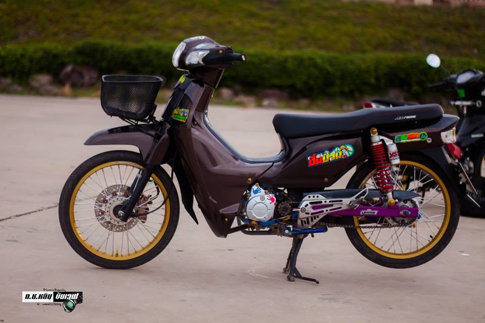 Cub Fi do gian don voi ve dep bi an cua biker Thailand - 7