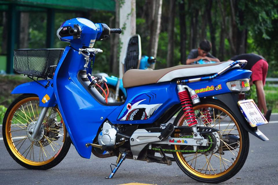 Cub Fi do su doi moi day mang ve dep tinh te cua biker nuoc ban - 8