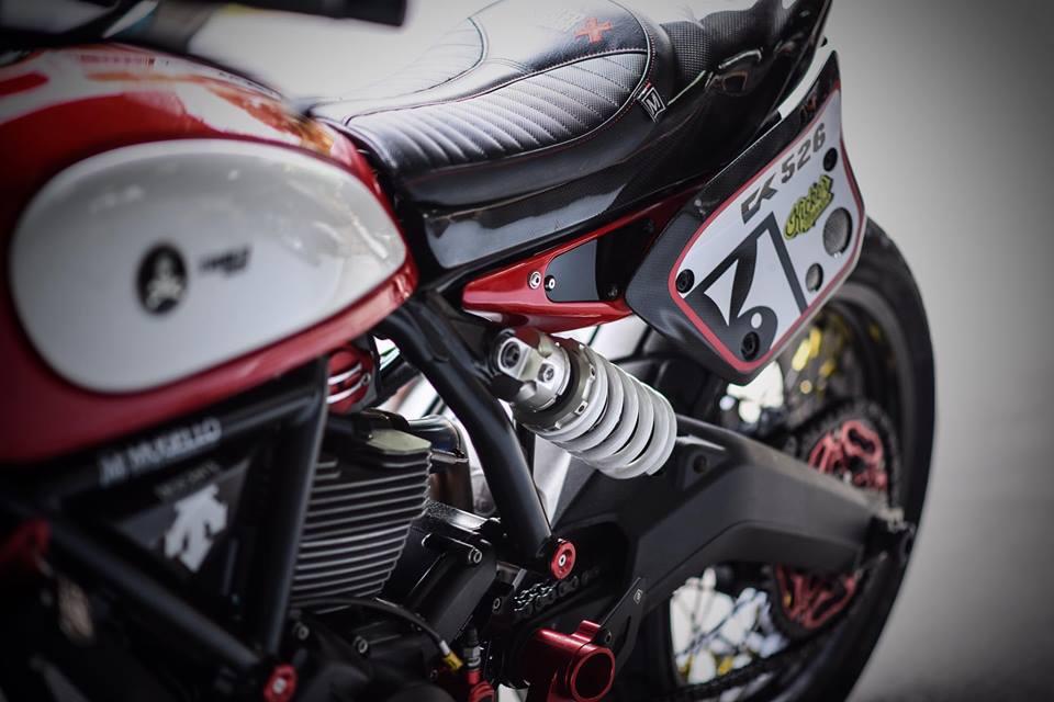 Ducati scrambler ban do Tracker day nhiet huyet tu Mugello - 5