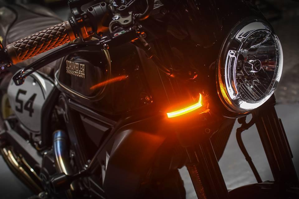 Ducati Scrambler Cafe Racer cucstom by Mugello - 3