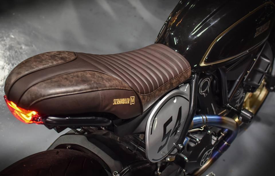 Ducati Scrambler Cafe Racer cucstom by Mugello - 7