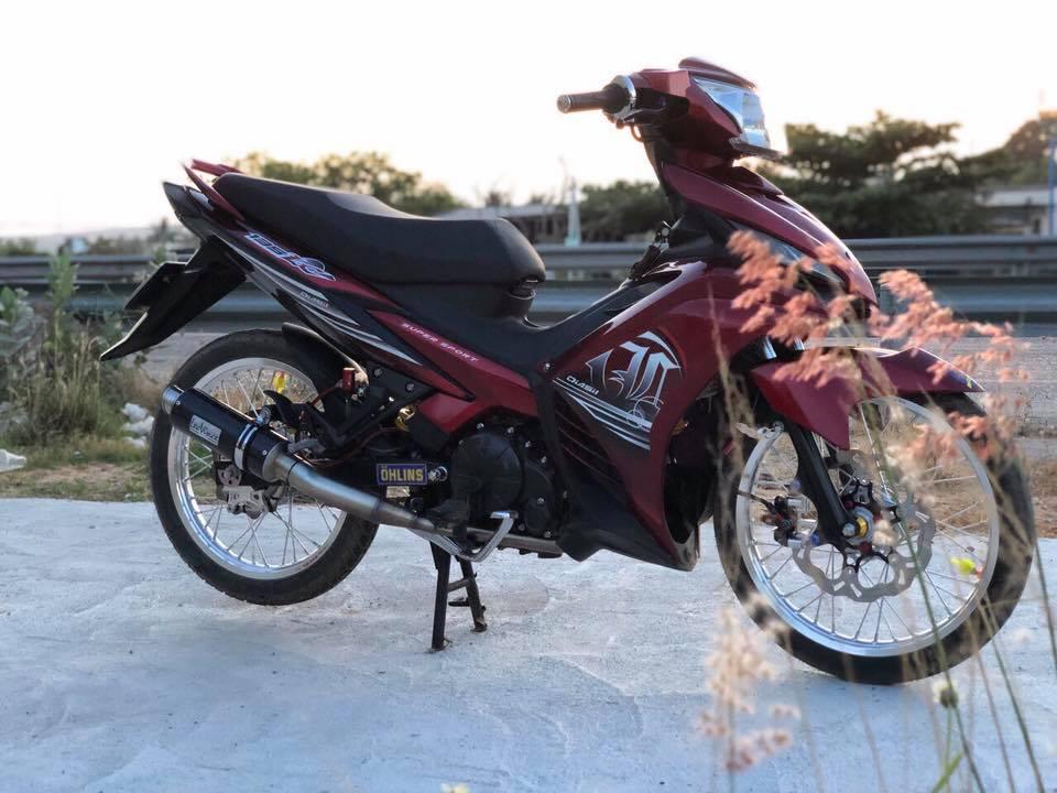 Exciter 135 do cua biker Viet mang ao anh LC 135 den tu nuoc ban - 3