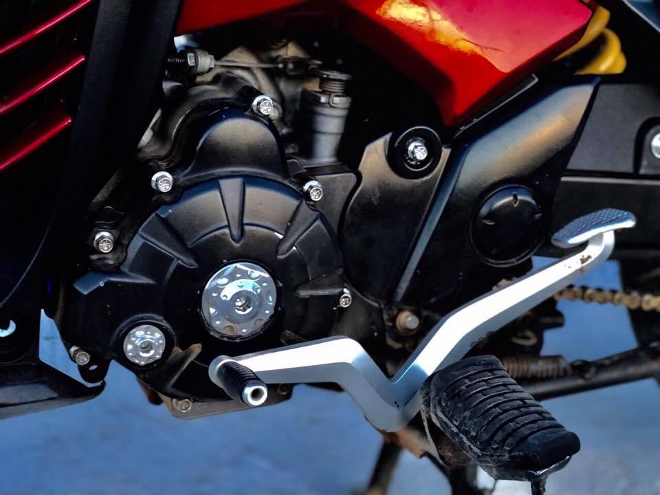 Exciter 135 do cua biker Viet mang ao anh LC 135 den tu nuoc ban - 7