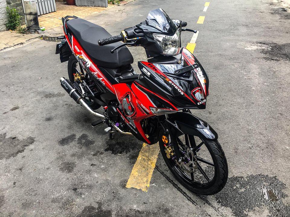 Exciter 150 do gian don de lai cam xuc manh cho nguoi xem cua biker Viet - 3