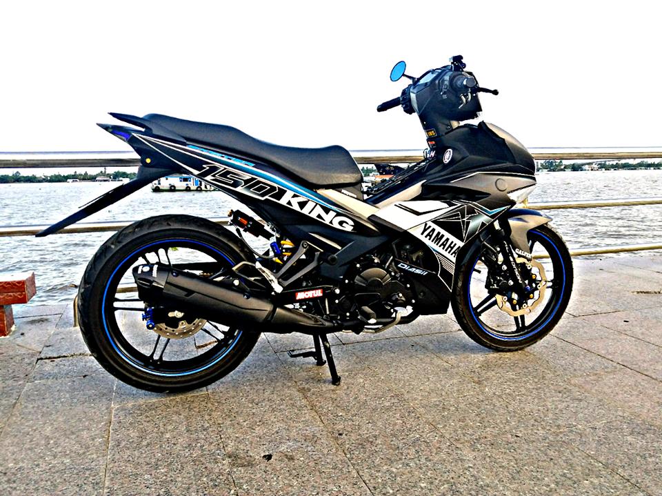 Exciter 150 do gian don mang ve dep don gian cua biker Tien Giang - 3
