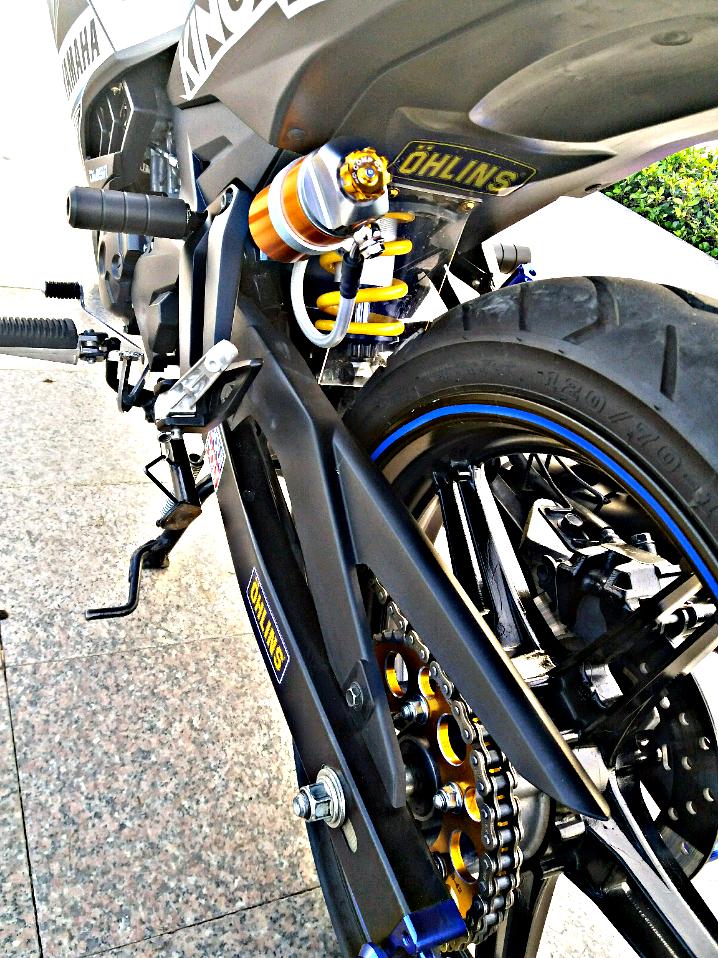 Exciter 150 do gian don mang ve dep don gian cua biker Tien Giang - 7
