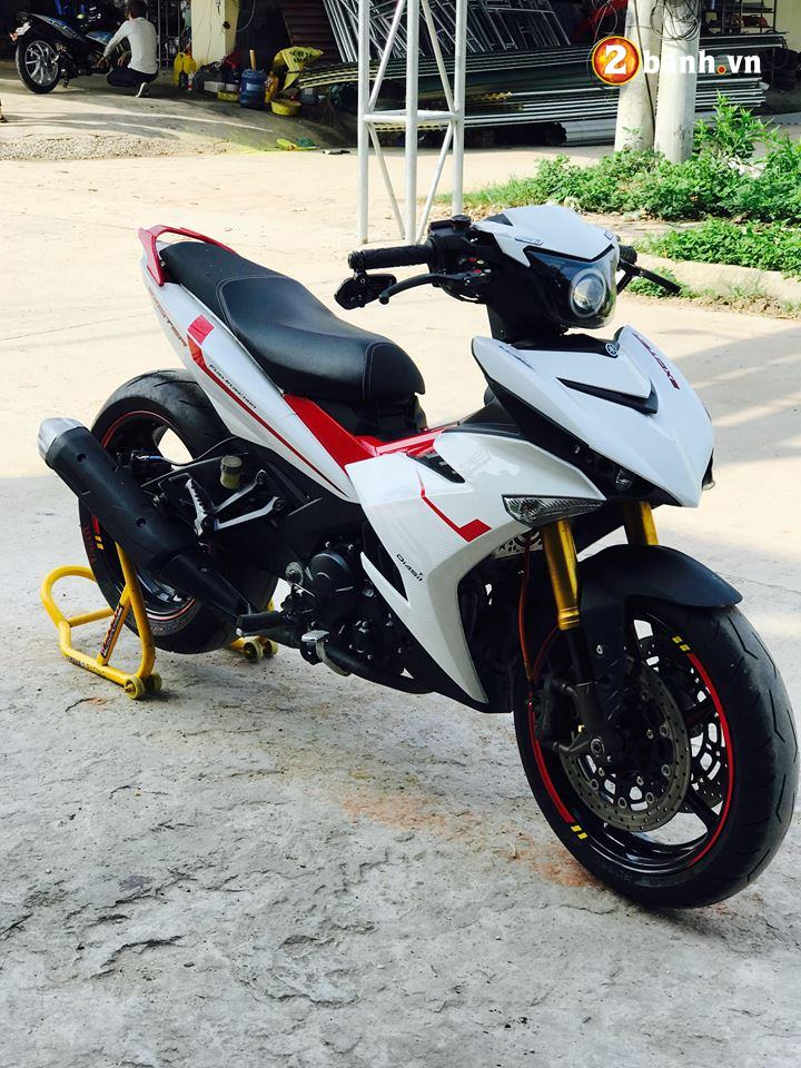 Exciter 150 do ham ho voi option do choi PKL cua biker Quang Ninh - 3