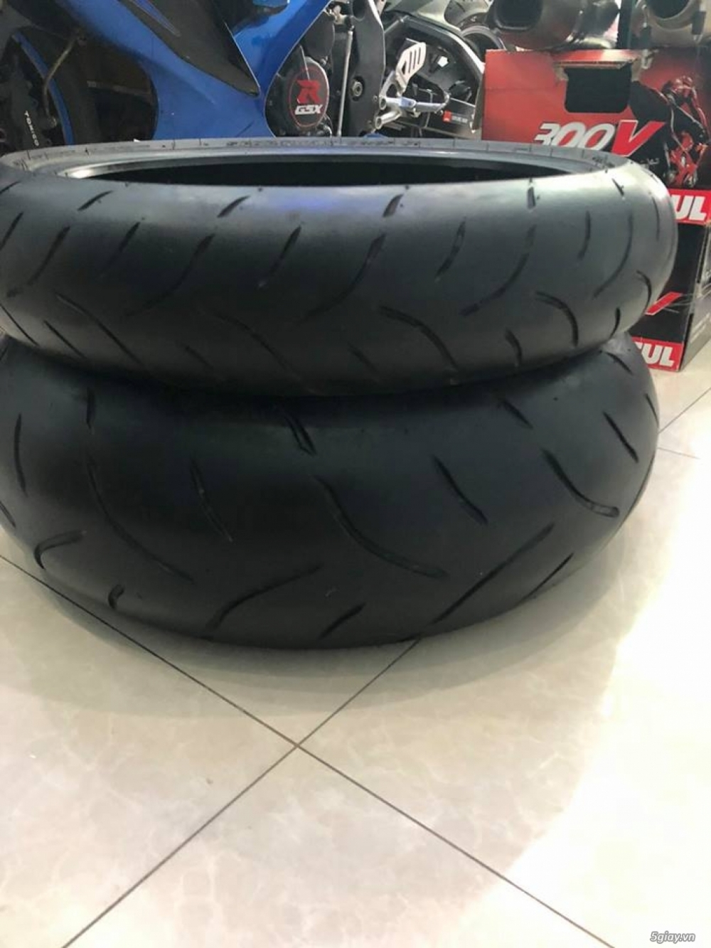 Full cap Akrapovic titan set Dunlop 120190 - 6