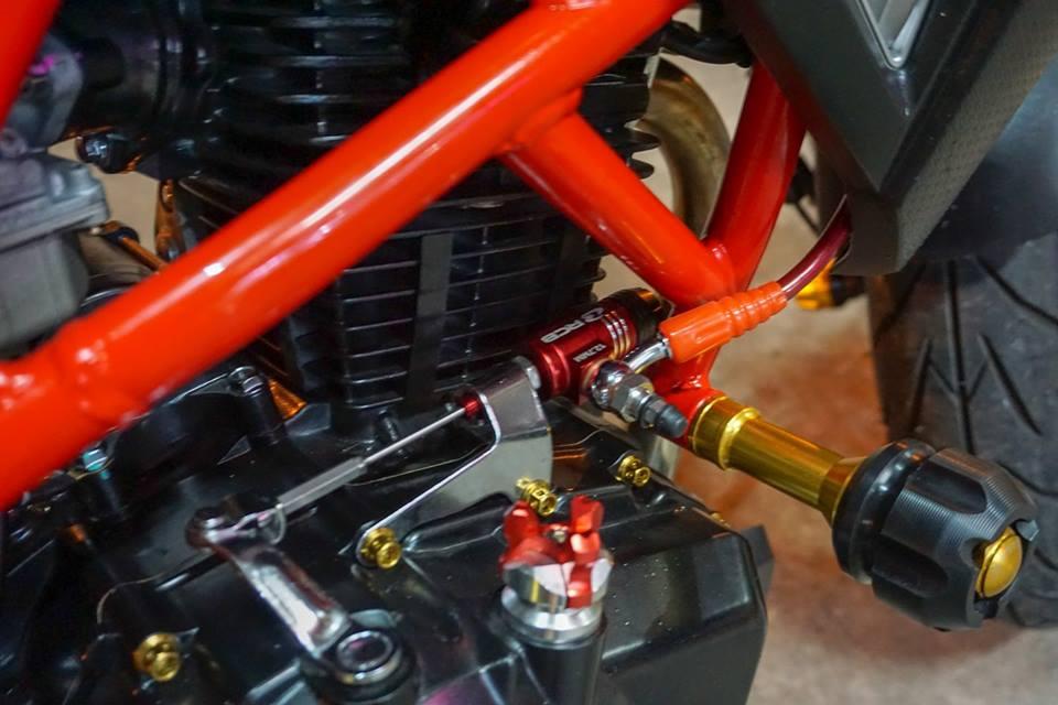 GPX Demon 150 GN do mang ve dep tinh te cua biker Thailand - 7