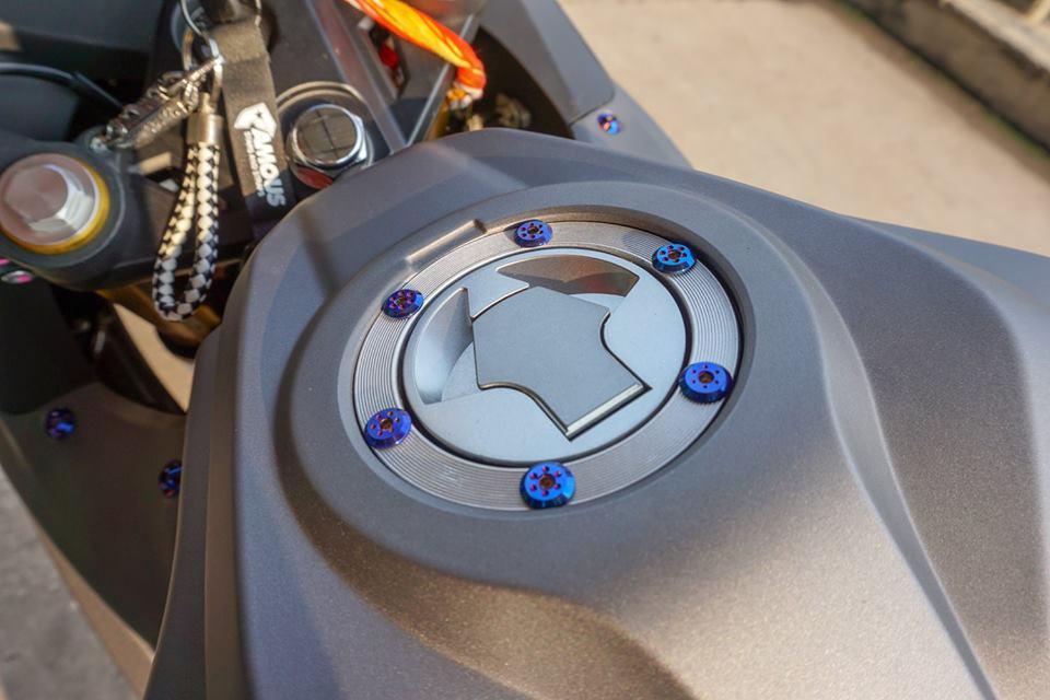 GPX Demon 150 GR do mang ve dep tinh te cua biker nuoc ban - 5