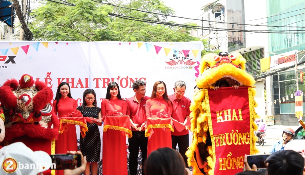 GPX Racing Viet Nam chinh thuc ra mat Showroom 3S dau tien tai Sai Gon - 2