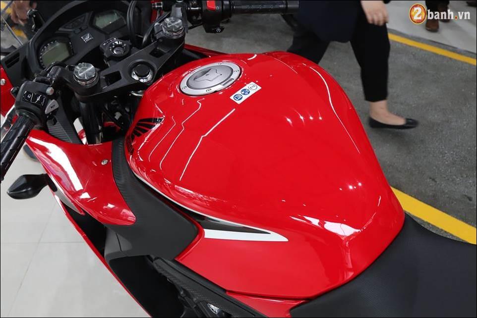 Honda CBR650F 2018 gia 2339 trieu VND ra mat tai Showroom Honda Motor Viet Nam - 8