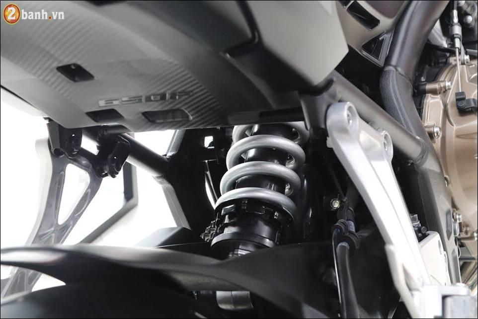 Honda CB650F 2018 co gia 2259 trieu VND ra mat tai Showroom Honda Moto Viet Nam - 10