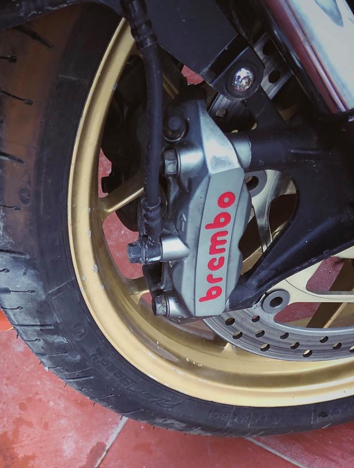 Honda CBR1000RR do khac biet cung bo canh Ca map AGV Pista Misano - 5