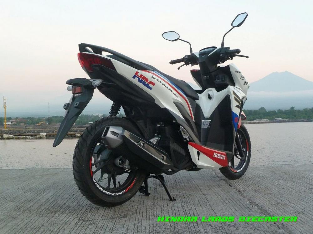 Honda Vario 150 2018 phien ban HRC chinh thuc lo dien - 7