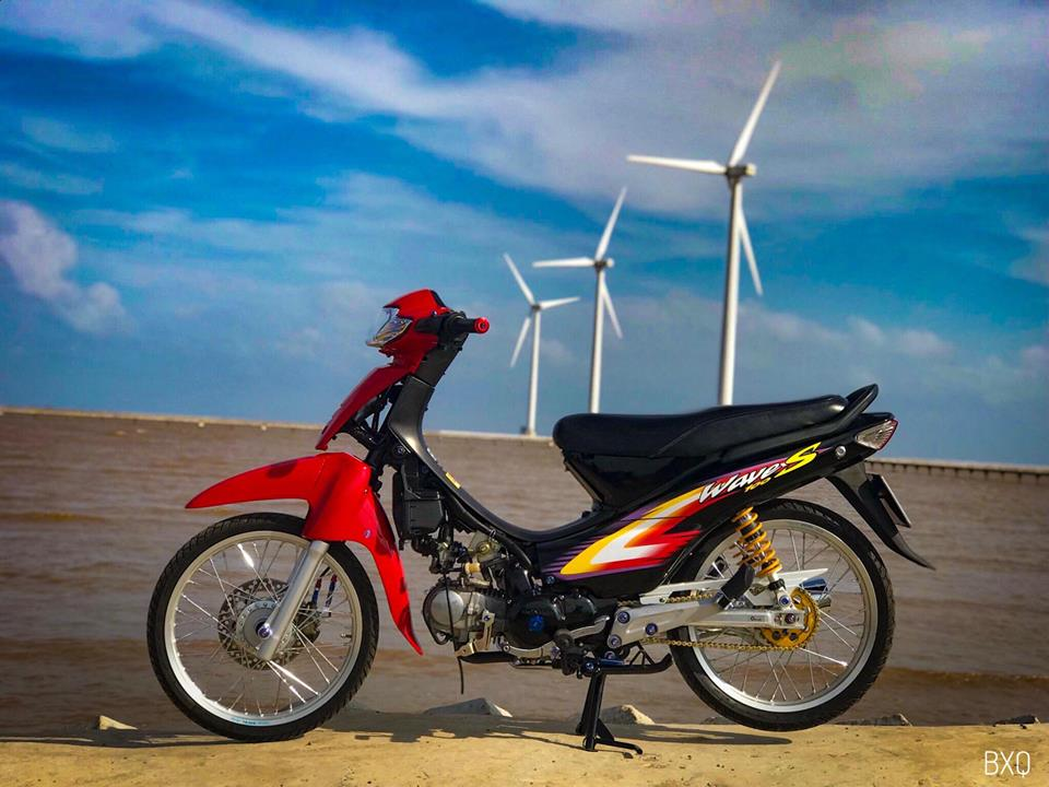 Honda Wave do mang net dep an minh day thu vi cua biker Bac Lieu - 16
