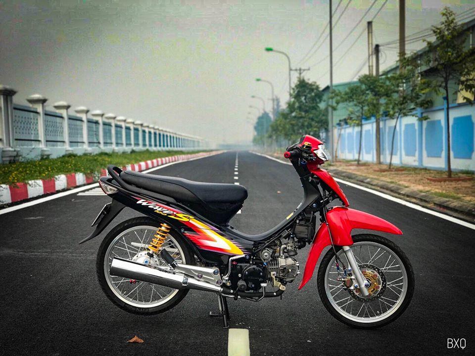 Honda Wave do mang net dep an minh day thu vi cua biker Bac Lieu - 9