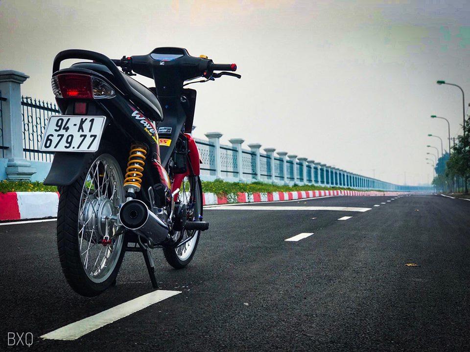 Honda Wave do mang net dep an minh day thu vi cua biker Bac Lieu - 10