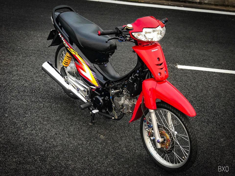 Honda Wave do mang net dep an minh day thu vi cua biker Bac Lieu - 13