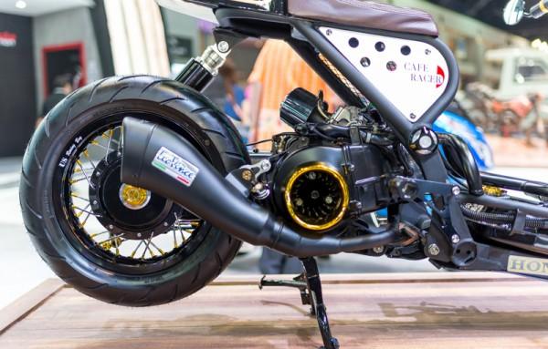 Honda Zoomer do phong cach Cafe Racer - 11