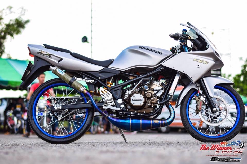 Kawasaki Kips 150 do mang net dep dang cap cua biker nuoc ban - 3