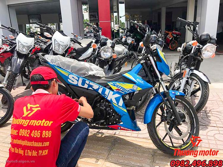 Con Loc Suzuki Satria F150 Indonesia Gia bao nhieu - 5