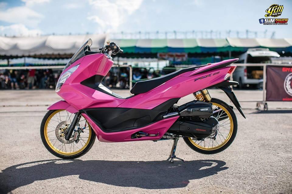 PCX 150 do bong hong dang yeu ben option do choi dang cap - 3