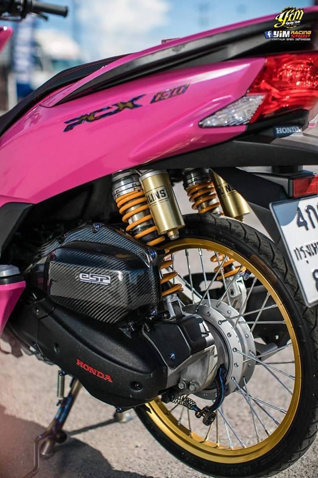 PCX 150 do bong hong dang yeu ben option do choi dang cap - 8