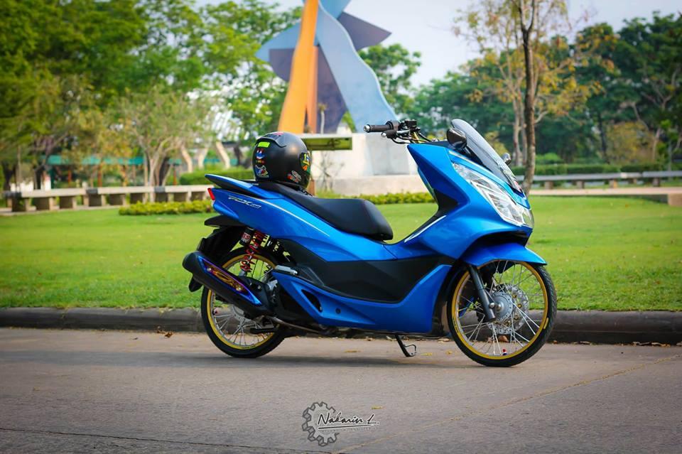 PCX 150 do mang buoc chan sieu luot cua biker nuoc ban - 3