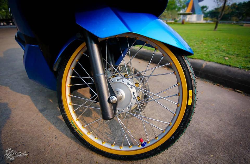 PCX 150 do mang buoc chan sieu luot cua biker nuoc ban - 5