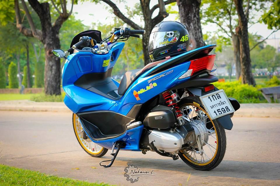 PCX 150 do mang buoc chan sieu luot cua biker nuoc ban - 7