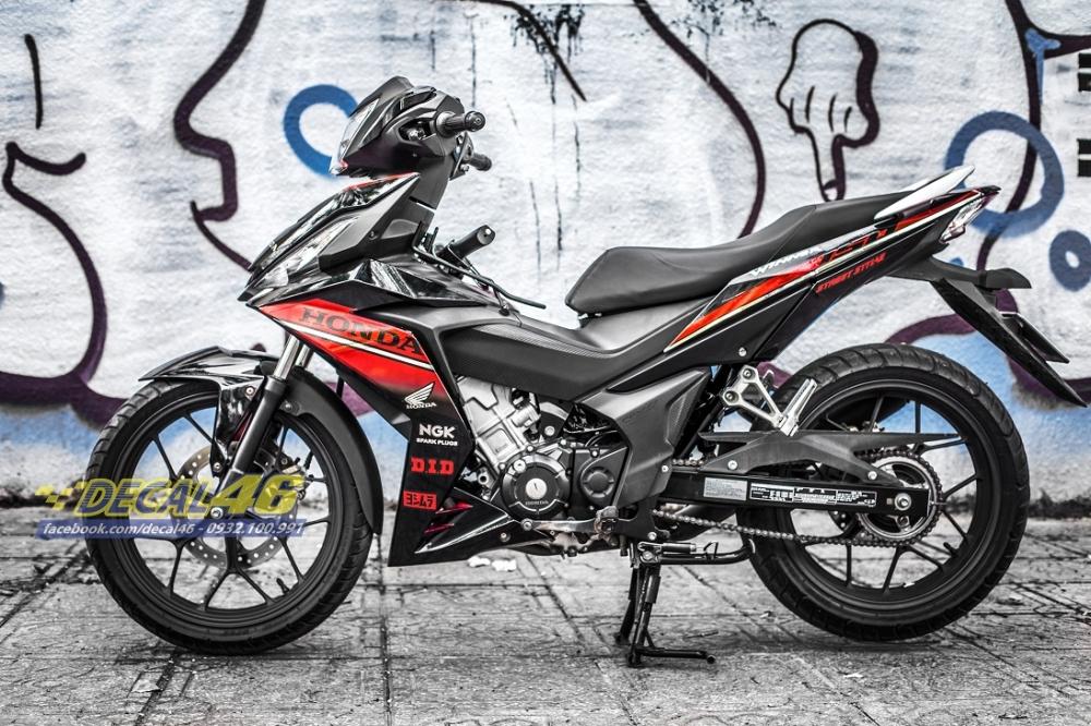 Tong hop tem xe Winner 150 do den thang 52018 do Decal46 thuc hien - 9