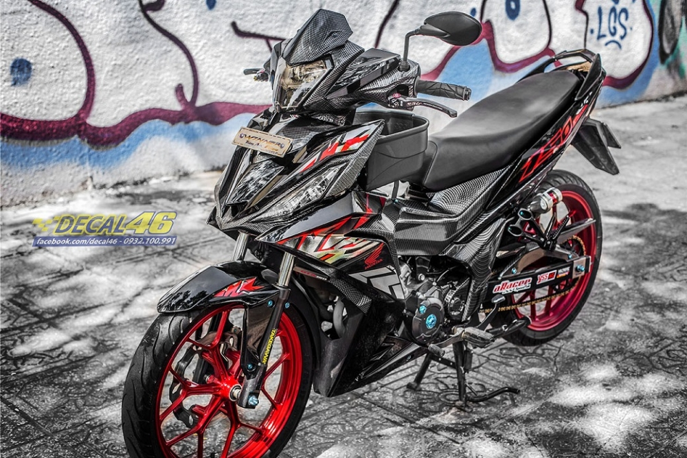 Tong hop tem xe Winner 150 do den thang 52018 do Decal46 thuc hien - 13
