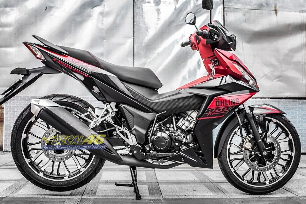 Tong hop tem xe Winner 150 do den thang 52018 do Decal46 thuc hien - 16