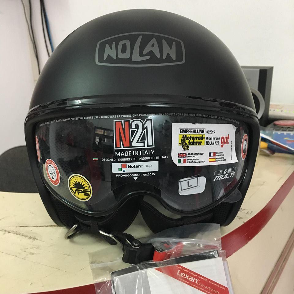 motorush299 Nolan N21 Classic den bong dong hanh cung ban - 3