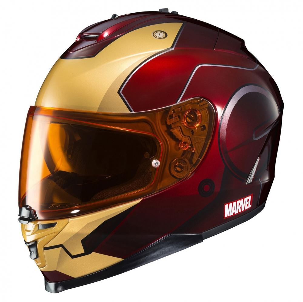motobox HJC IS 17 Iron man sieu khung cho moi lan doi - 3