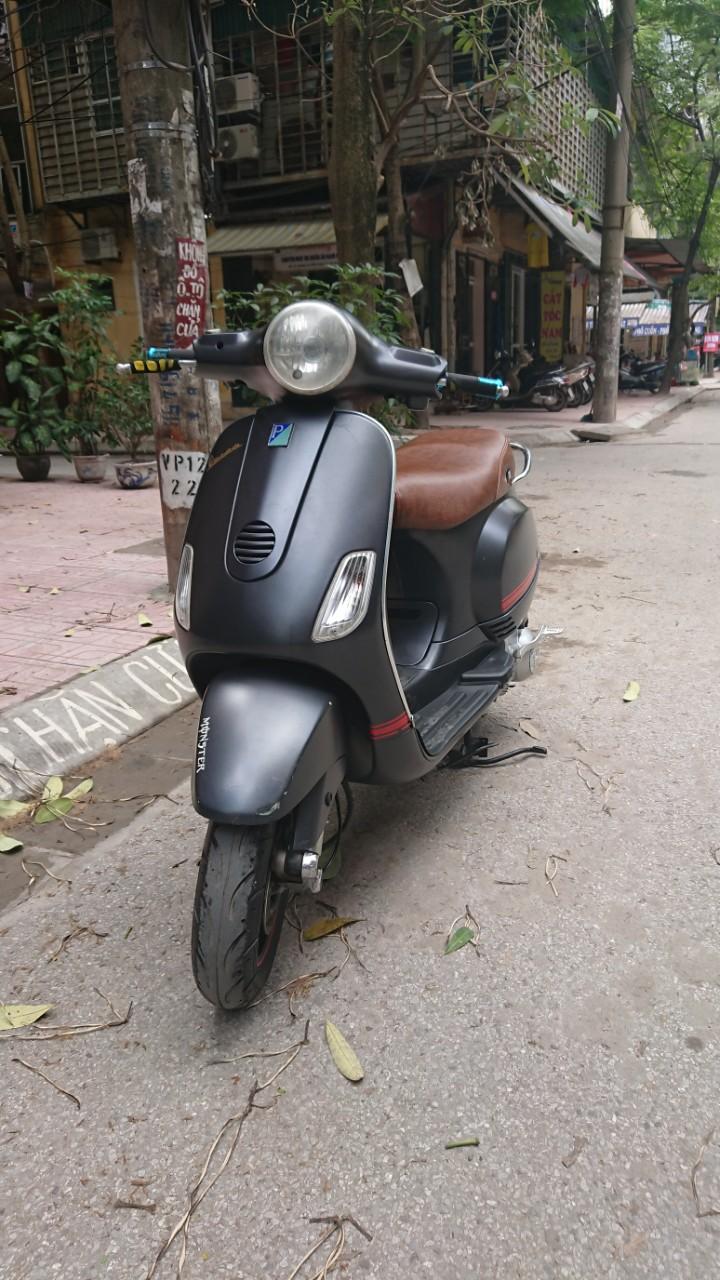 Rao ban Vespa Lx 125 nhap Y 2008 Ghi nham titan ca tinh dung chat luong - 2