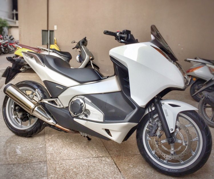 Sieu tay ga Honda Intergra 750cc 140TR Thuong Luong it - 3